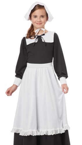 California Costumes Pilgrim Girl Child Costume
