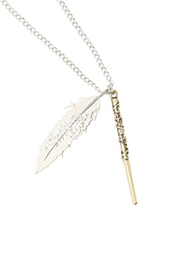 Price comparison product image Harry Potter Wand & Feather Necklace