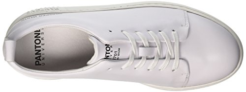 Pantone whisper Nyc Mixte White 10 Basses Adulte Blanc Footwear Universe 0IxHrI
