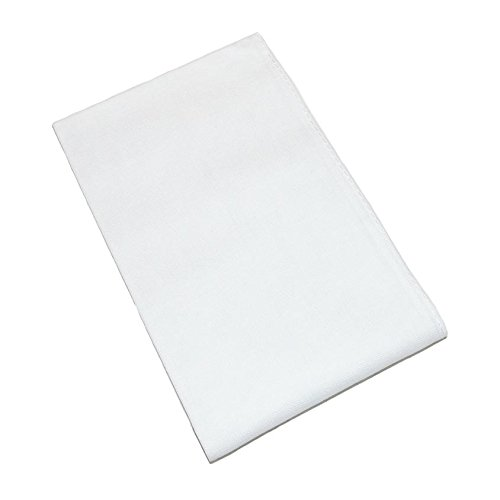 Axxents Unisex Cotton White Handkerchiefs (Pack of 12), White by Axxents (Image #3)