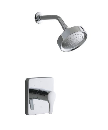 Kohler K T10697 4 CP Panache TeFtA Rite Temp Shower Trim,