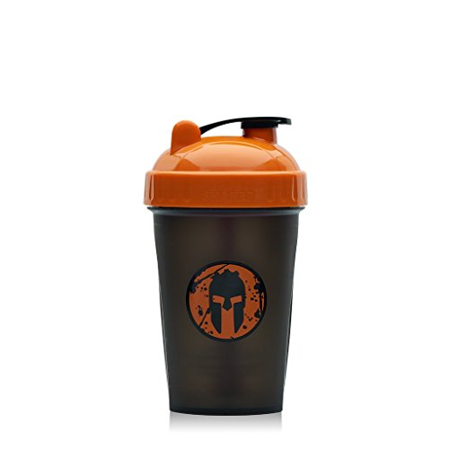 Orange Mini Dish (Performa Perfect Shaker - Mini Orange Spartan Shaker Bottle, Leak Free Bottle With Actionrod Mixing Technology For All Your Sports and Fitness! Dishwasher and Shatter Proof)