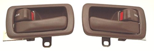 DELPA CL3559 > 2 pc Set Inside Interior Door Handles and Bezels Fits: 1992 Thru 1996 Toyota Camry ()
