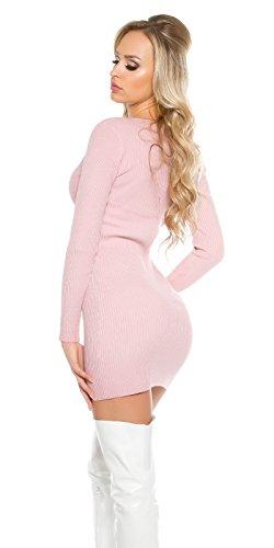 KouCla - Vestido - ajustado - para mujer altrosa