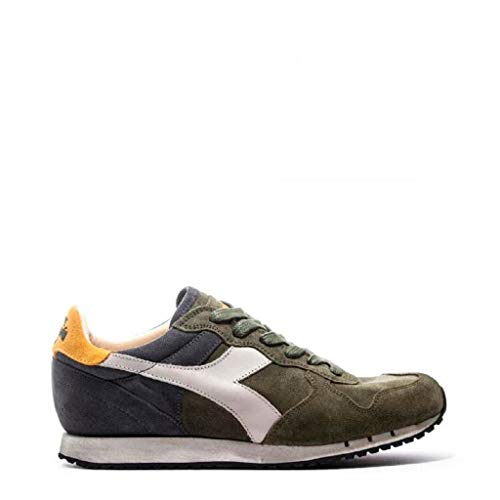 ec1afd4a0f23f Diadora Heritage TRIDENT S SWVERDE Sneaker Trident Verde 46 Man