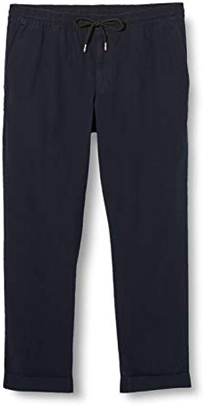 Tommy Hilfiger Męskie Active Structure Pant GMD Flex Loose Fit Jeans: Odzież