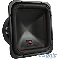MTX S65 Series S6510-44 10 inch 500W RMS Dual 4 Ohm Square Subwoofer