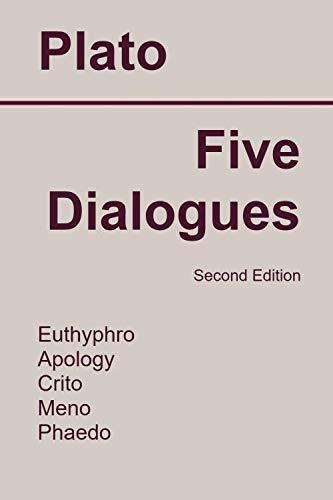 PLATO FIVE DIALOGUES EUTHYPHRO EBOOK