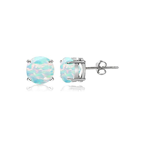 4mm Round Stud Earrings - 1