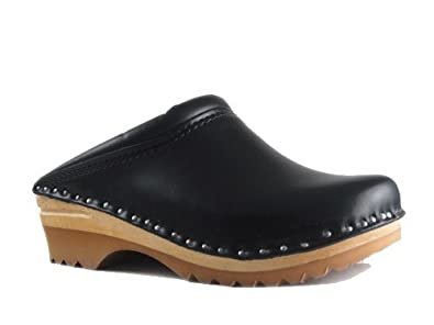 Troentorp Unisex Båstad Rembrandt Leather Clogs