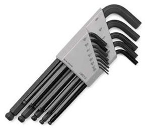 SK Hand Tools 19613 13-Piece Fractional Ball Hex Key ()