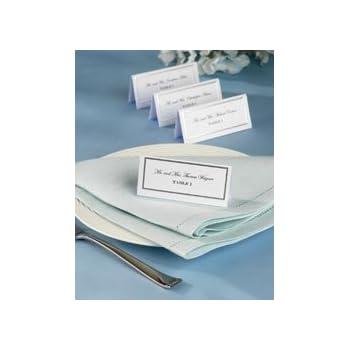 Amazon.com: Bulk Buy: Wilton Place Cards 60/Pkg Silver Border (3 ...