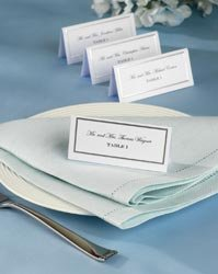 Wilton Bulk Buy Place Cards 60 Pack Silver Border (3-Pack)