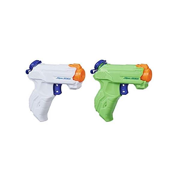 Hasbro, Pistola ad Acqua a spruzzo Super Soaker ZipFire, Confezione da 2 Pezzi 1 spesavip