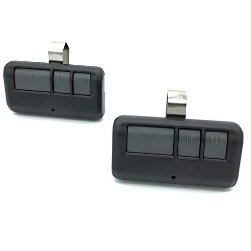 2 Pack for LiftMaster 893MAX Visor Style Garage Door Opener Remote Transmitter 81LM 371LM 373LM 891LM 893LM 971LM 973LM