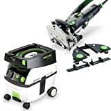 Festool DF 500-Q Set Domino Jointer + CT Midi Dust Extractor Package