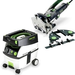 Festool DF 500-Q Set Domino Jointer + CT Midi Dust Extractor Package by Festool Tooltechnic