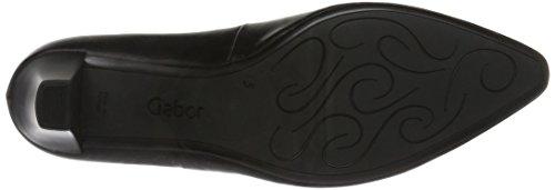 Gabor Shoes Fashion, Zapatos de Tacón para Mujer Negro (schwarz 37)