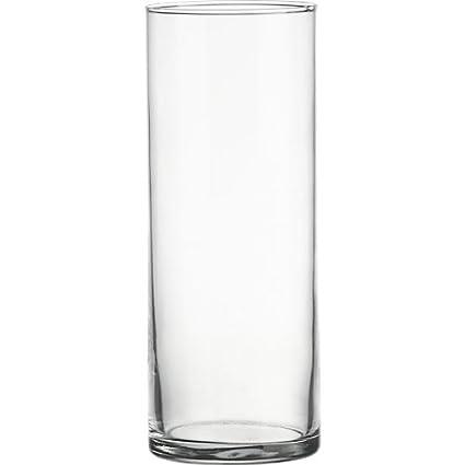 Amazon 5 Opening Clear Cylinder Glass Vase Candle Holder