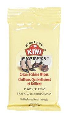Kiwi Clean And Shine Wipes (Pack of 6)