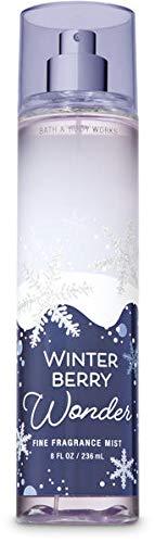 Bath & Body Works Winter Berry Wonder Fine Fragrance Mist, 8 Ounce