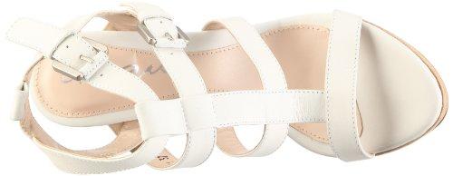 Cinque Shoes Dana 105731 - Sandalias de vestir de cuero nobuck para mujer Beige