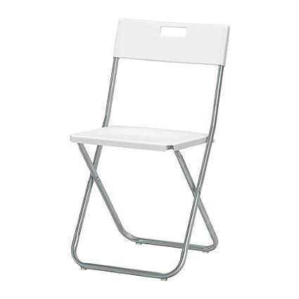 Amazon.com : Ikea Folding chair, white : Garden & Outdoor