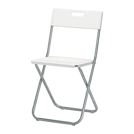 Delicieux IKEA Folding Chair, White (2)