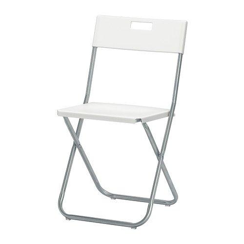 IKEA Folding Chair, White 2
