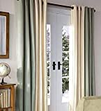 Cheap 54″L X 40″W Thermalogic Energy Efficient Insulated Grommet-Top Solid Curtain Pair, In Natural