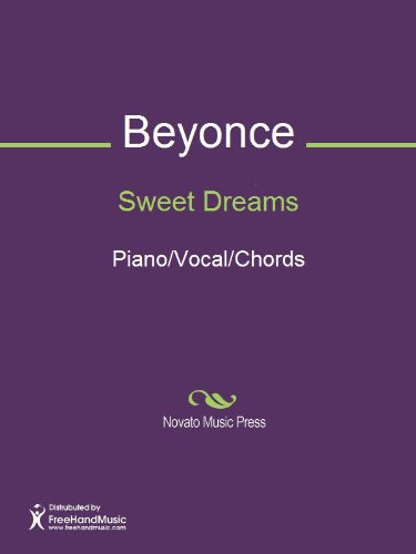 Sweet Dreams Sheet Music Pianovocalchords Kindle Edition By