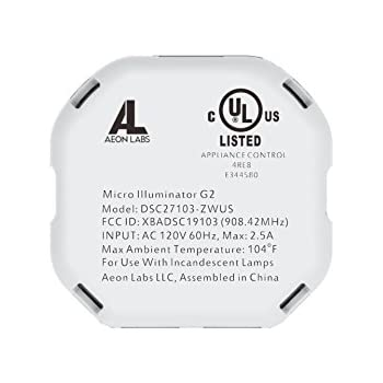 Aeotec Z-Wave Micro Dimmer, 2nd edition