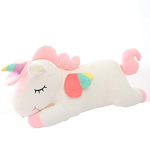 AIXINI Unicorn Stuffed Animal Plush Toy,11.8 Inch Cute Soft Unicorn Plush Stuffed Animal Toy Doll, Gift for Kids Babies Birthday Party Home Décor