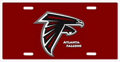 Atlanta Falcons- The Run v13 Vanity License Plate ()