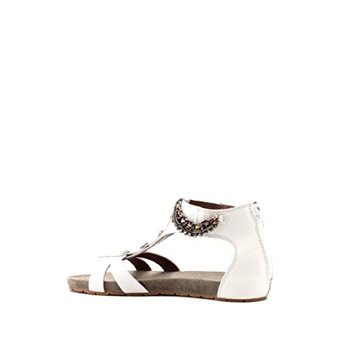 CAFèNOIR Sandal - Sandalias de vestir de piel para mujer Bianco