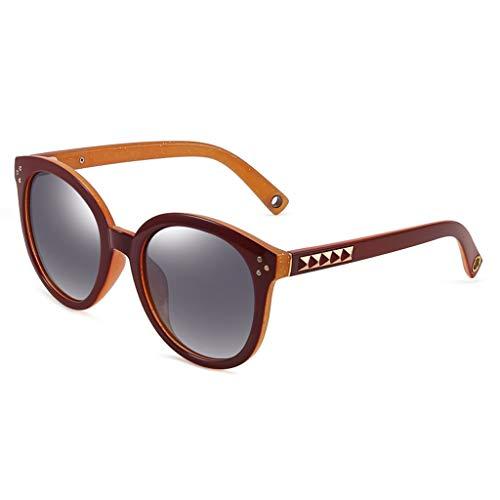 Miroir Couleur Conduite D Sport soleil polarisées Soleil Style de de Femme Des New de A Lunettes Frame lunettes rétro pZxaaqO