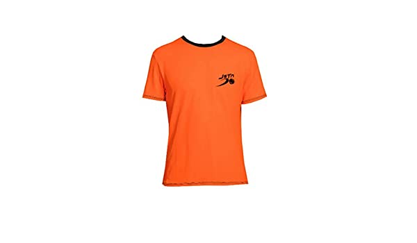 Camiseta Padel Just Ten Hombre Ken-Naranja Fluor-XL: Amazon.es ...