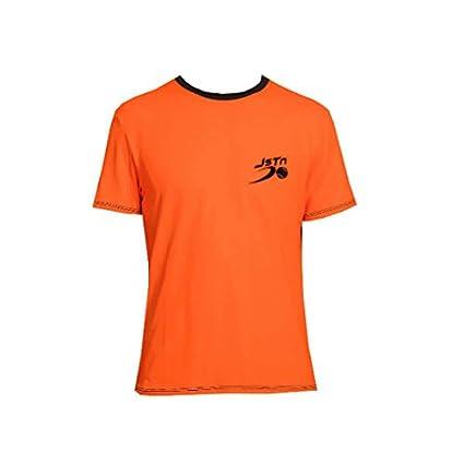 Camiseta Padel Just Ten Hombre Ken-Naranja Fluor-XL: Amazon ...