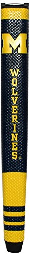 Team Golf NCAA Michigan Wolverines Golf Putter Grip with Removable Gel Top Ball Marker, Durable Wide Grip & Easy to Control ()