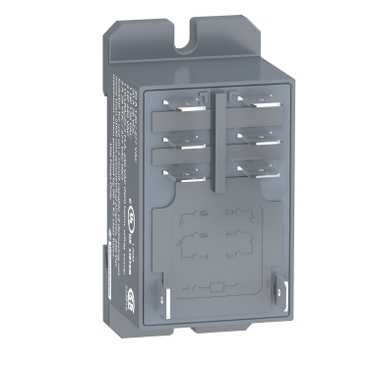 Schneider Electric RPF2BB7 Relay 2CO 30A 24V AC, Power Relay Plug-In - Zelio Rpf - 2 Co - 24 V Ac - 30 A