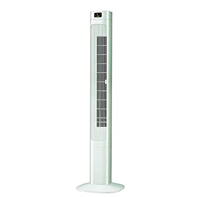 DDSS Three Block Gale, Air Purification, LED Display, Mobile Convenience, Remote Control Vertical Shaking Head, Floor Fan, No Leaf Tower Fan. @