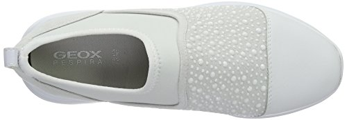 D B Off Mujer White Blanco Ophira Zapatillas Whitec1209 para Geox dTZRn6qWd