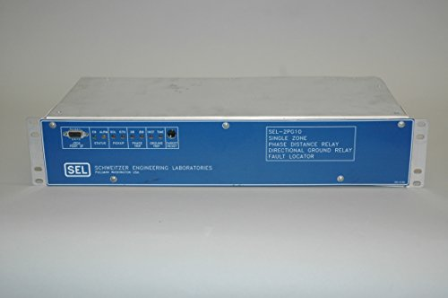 Schweitzer Engineering Laboratories SEL-2PG10 2PG108-4256MHGB Phase Distance Relay Directional Ground Relay Fault Locator ()