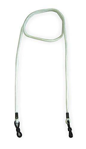 Eyewear Rtnr, Wht, 13-3/4 In, Polyest - 2YAU4, (Pack of 20)