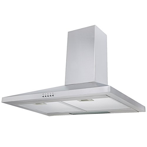 SIA CH71SS 70cm Chimney Cooker Hood Kitchen Extractor Fan In Stainless Steel
