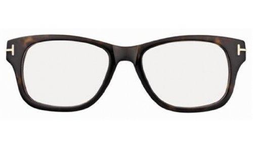 Tom Ford FT5147 Eyeglasses-052 Dark Havana-52mm by Tom Ford