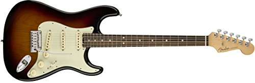 Fender 전기 기타 American Elite Stratocaster® HSS ShawBucker™, Ebony Fingerboard, 3-Color Sunburst