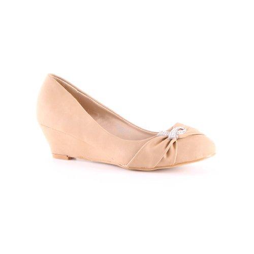 nuevos de diseñador Zapatos Zapatos de tacón Caqui alto de alto para corte mujer axUZq