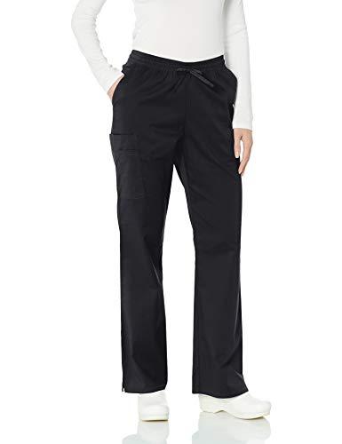 Amazon Essentials Women's Quick-Dry Stretch Scrub Pant, Black, XX-Large