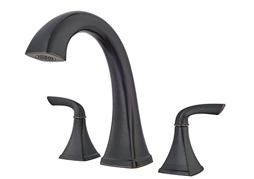 Price Pfister RT65BSY Bronson 2-Handle 3-Hole Roman Tub Faucet Trim Tuscan Bronze